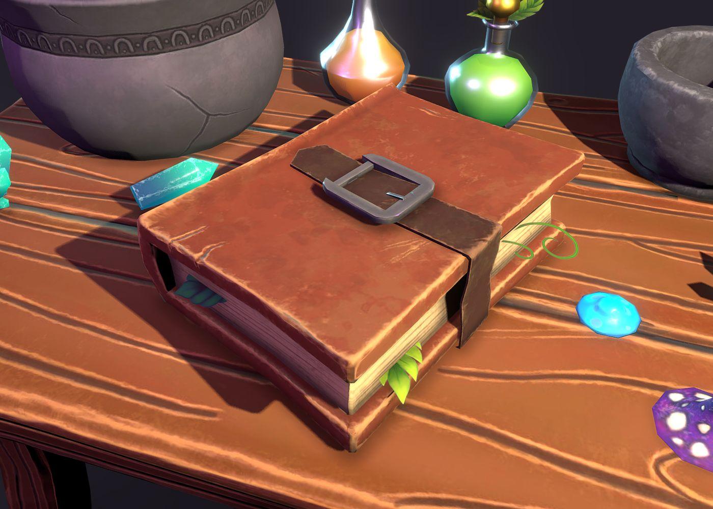 Alchemist Table Book Espy