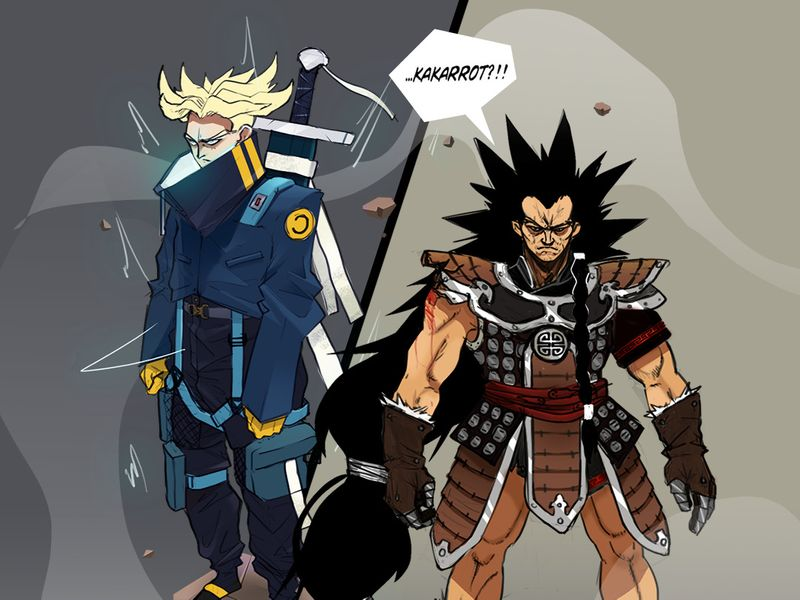 Future Trunks and Raditz Redesign
