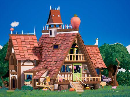 Carrot Farm House