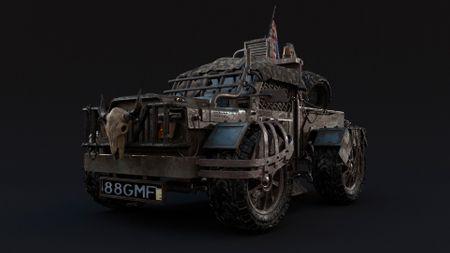 Post apocalyptic vehicle