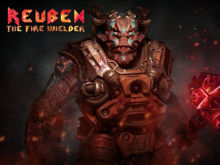 Reuben - The Fire Wielder