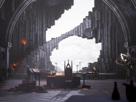 [UE4] Merlin's Cave (The Legend of King Arthur Challenge)
