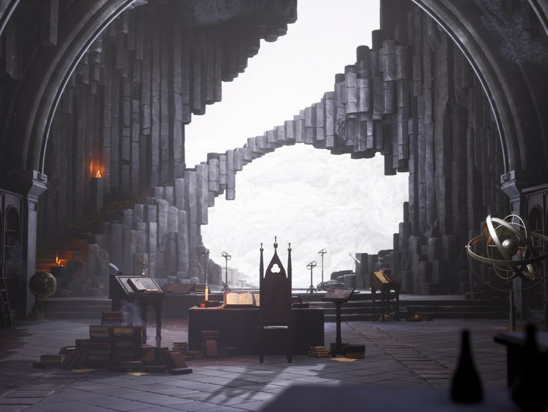 [UE4] Merlin's Cave (The Legend of King Arthur Challenge)
