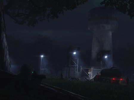 Water tower assault