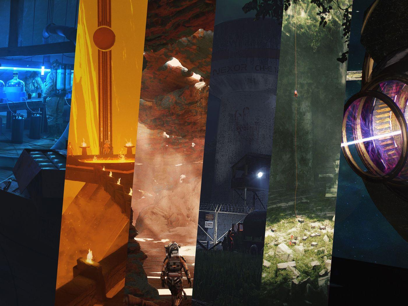 Etienne Vittani  - Environment Concept Art