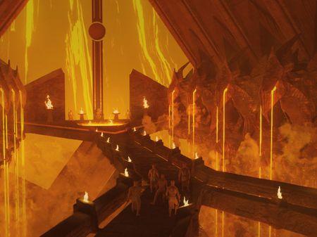 Volcano Temple