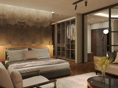 3D Interior Model & Rendering - Residential Apartment