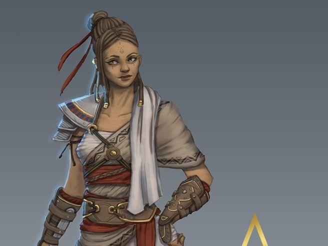 Assassin's Creed Origins Fan Art/Fake DLC
