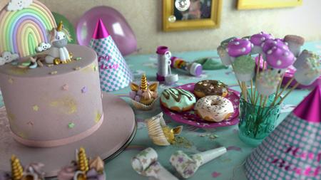 Still life : Birthday Table