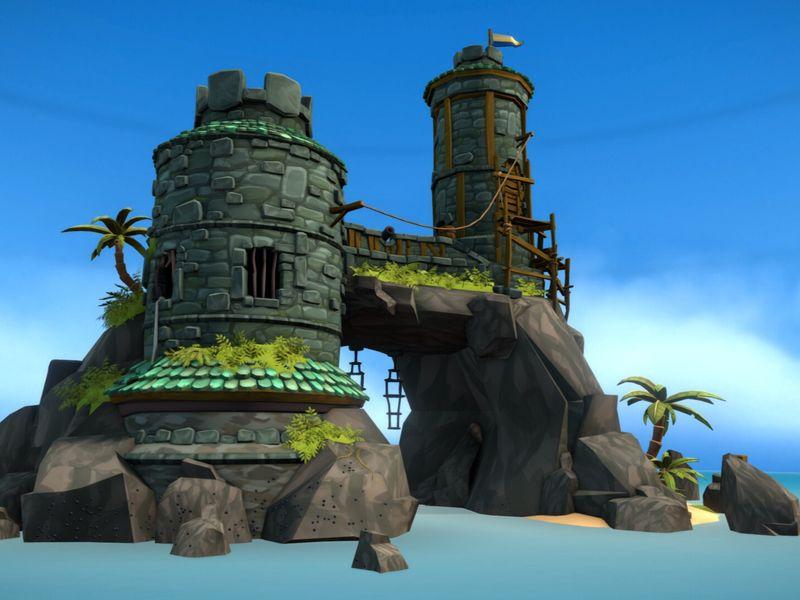 Navy Island - Fort Pratchett