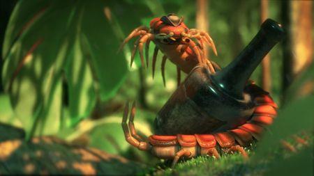 Captain Doug, The giant centipede