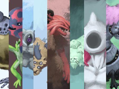 Creature Designs - Edward Helén