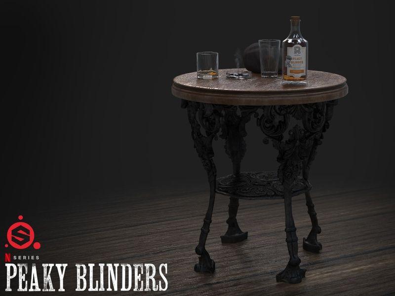 Peaky Blinders 3D Assets