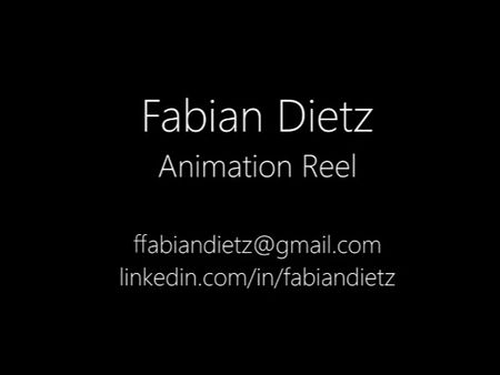 Animation Reel - Fabian Dietz