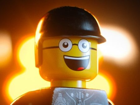 BAD/GOOD COP FROM THE LEGO MOVIE