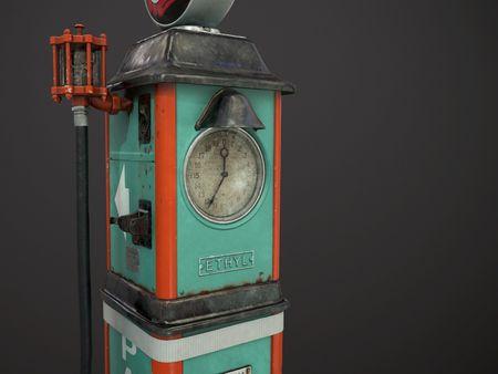 Sky Chief Petrol Pump - Art Test