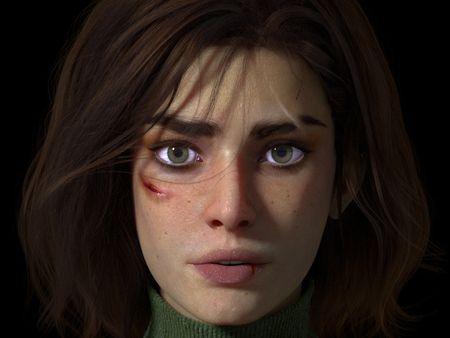 Scar Portrait