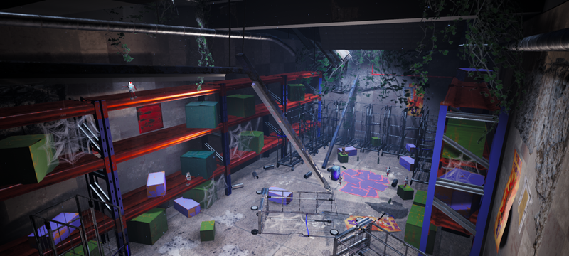 Derelict Store