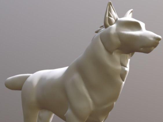 Wolf Sculpt