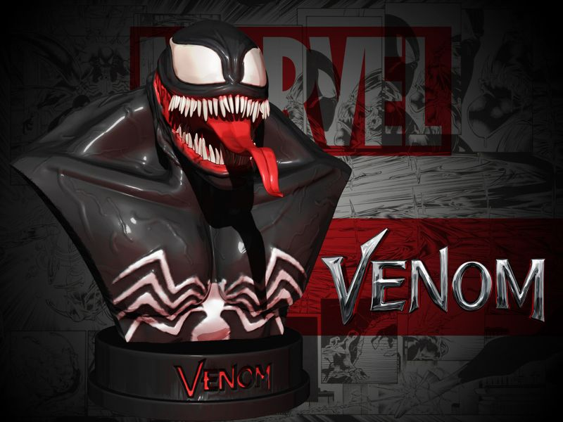 Venom - Digital Sculpture