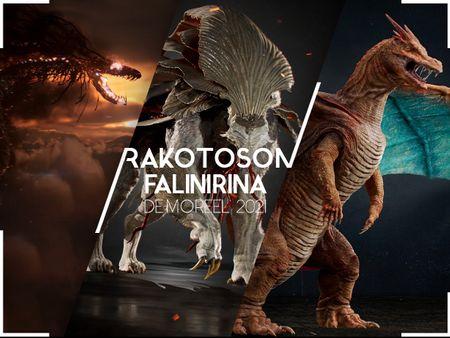 Character / Creature Reel 2021 - RAKOTOSON Falinirina
