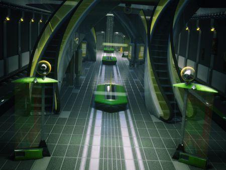 Futuristic Metro
