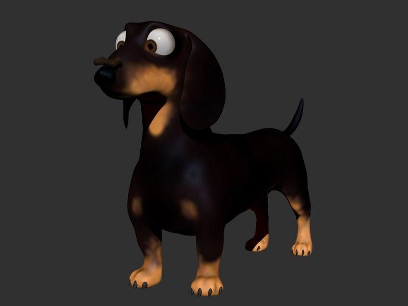Sausage Dog Cartoon