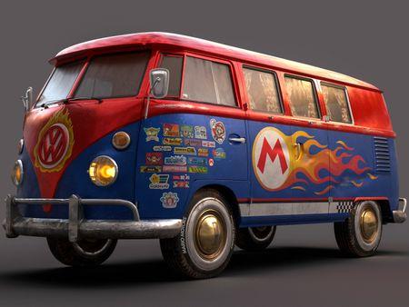 Super Mario's Kombi