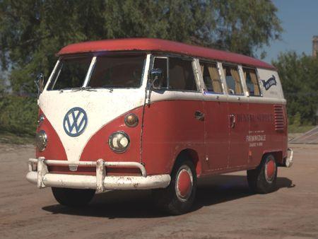 '50s red vintage kombi