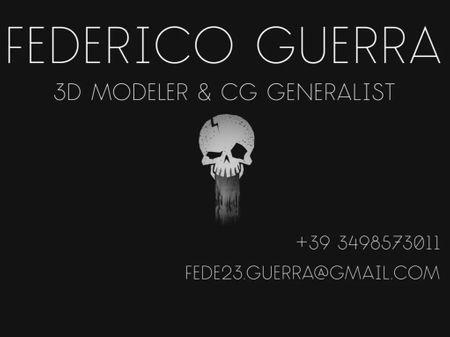 Federico Guerra ShowReel 2019
