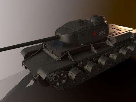 KV-85 Soviet Tank