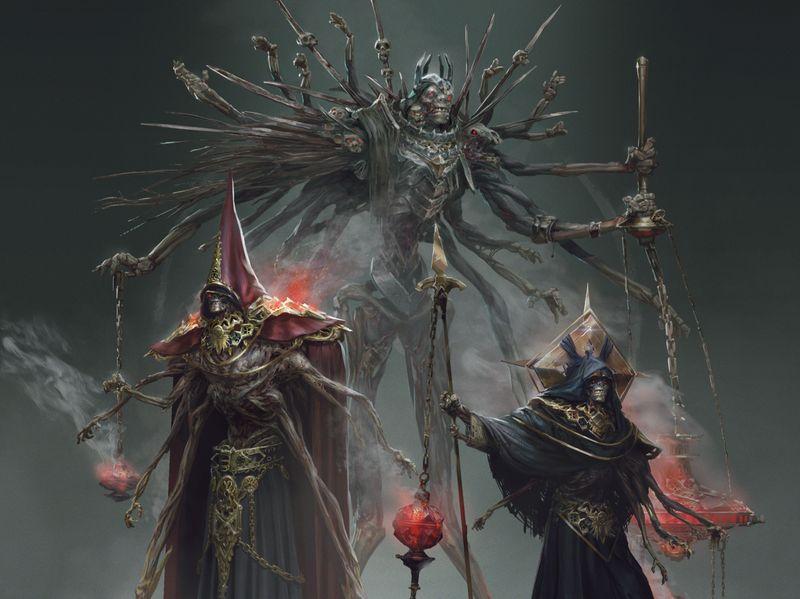Dark Fantasy - Characters