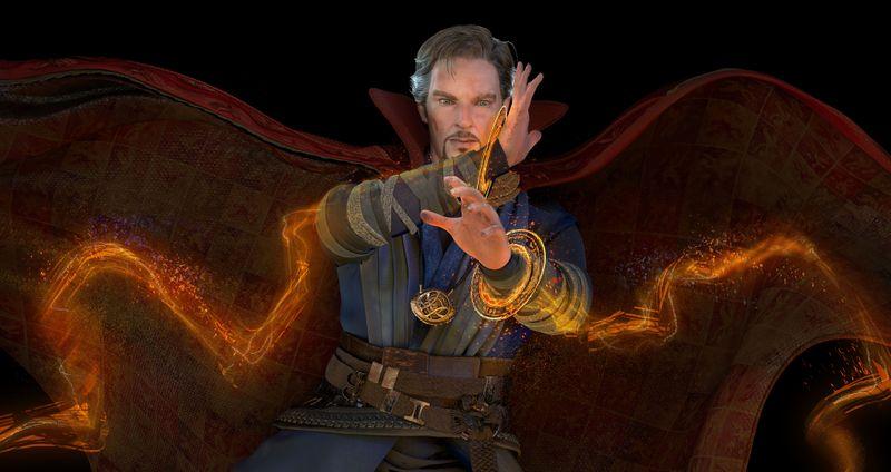Benedict Cumberbatch CGI
