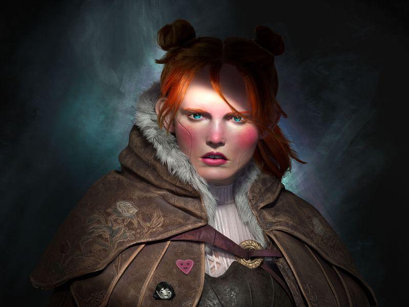 Neo Baroque girl