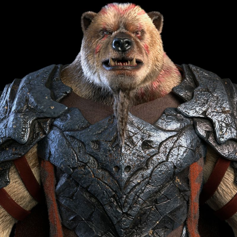 Warrior Bear