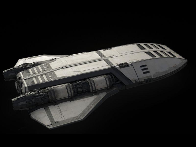 Charon - Landing Shuttle