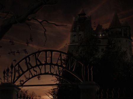 Arkham Asylum Matte Painting