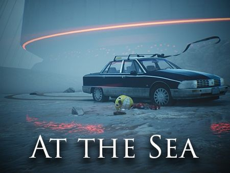 """At the Sea - based on Simon Stålenhag's """"The Electric State"""""""