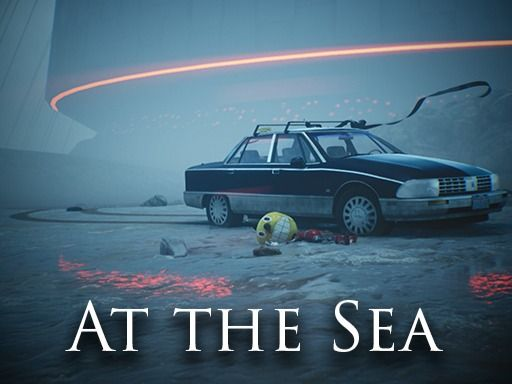 "At the Sea - based on Simon Stålenhag's ""The Electric State"""