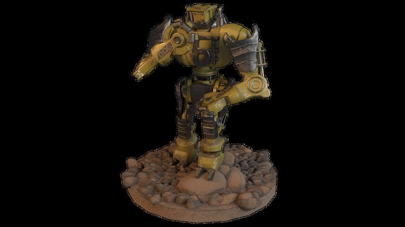 AMSB (Number Six): Robot Character Development