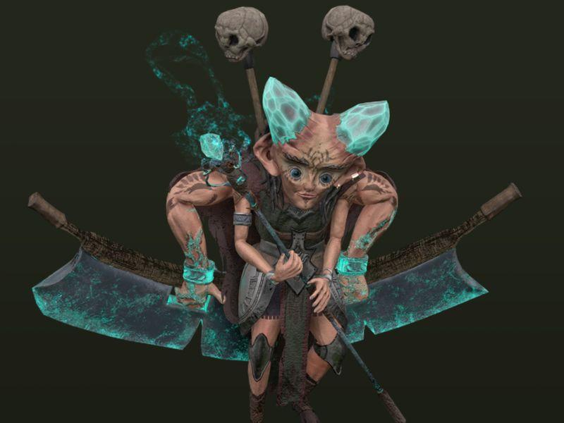 Fernis - Owl cursed warlock