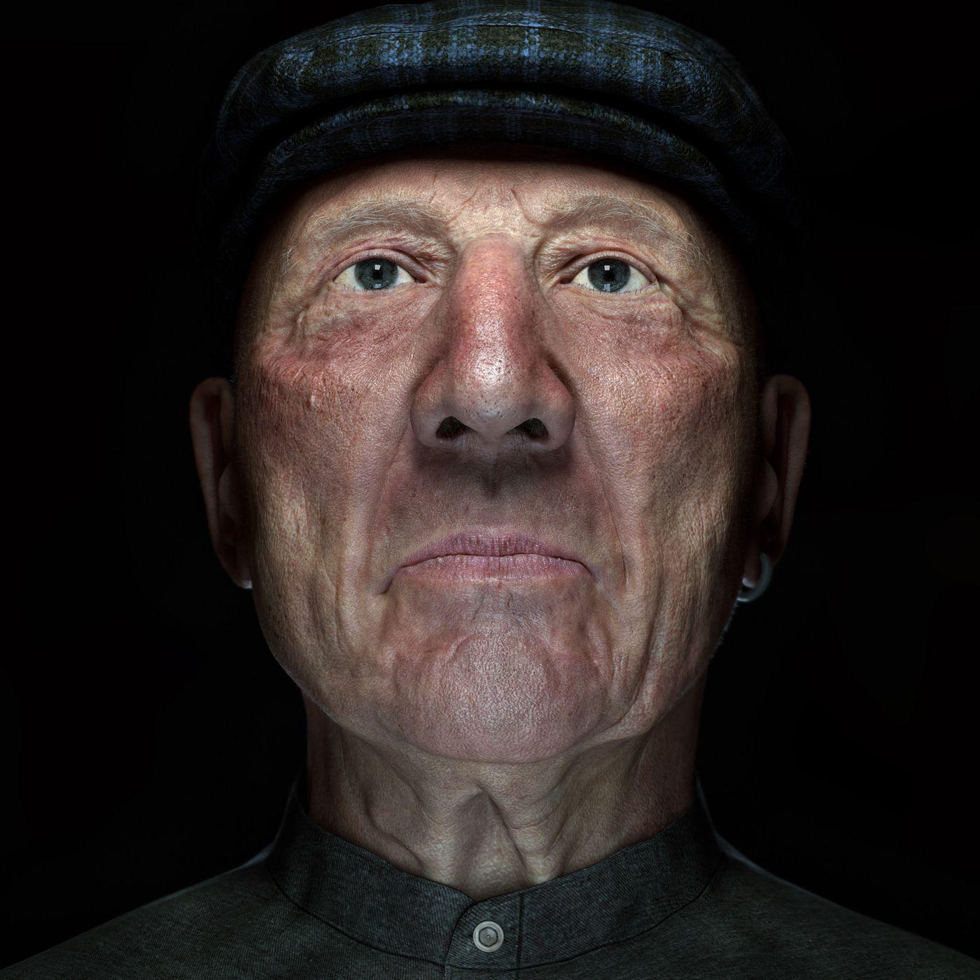 Old Man Front Fermin