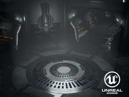 Sci-Fi Environment (UE4)