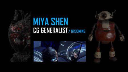 Miya Shen - CG/FX Showreel