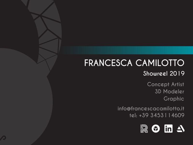 Francesca Camilotto - Showreel 2019
