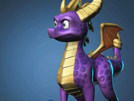Spyro the Dragon - fanart