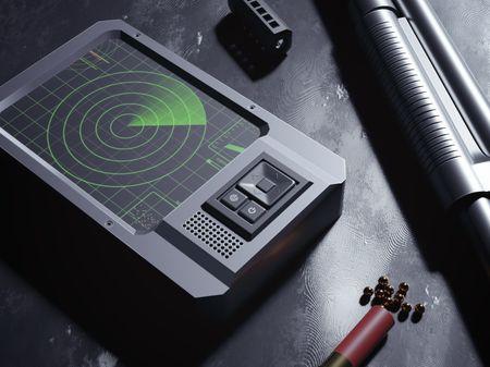 M870 Combat Shotgun and Heartbeat Sensor