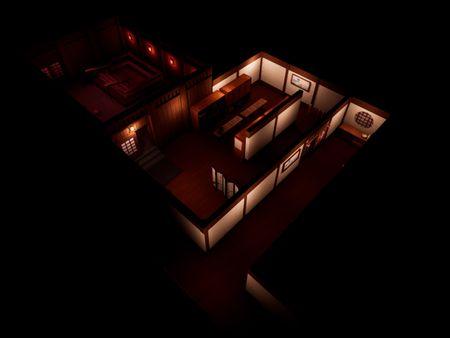 Mobile Horror Game - Japanese Inn (Ryokan)