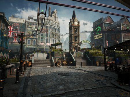 Bioshock Infinite in London - Escape Studios 2021 MA Game Art Group Project
