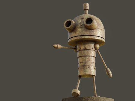 Robot from Machinarium